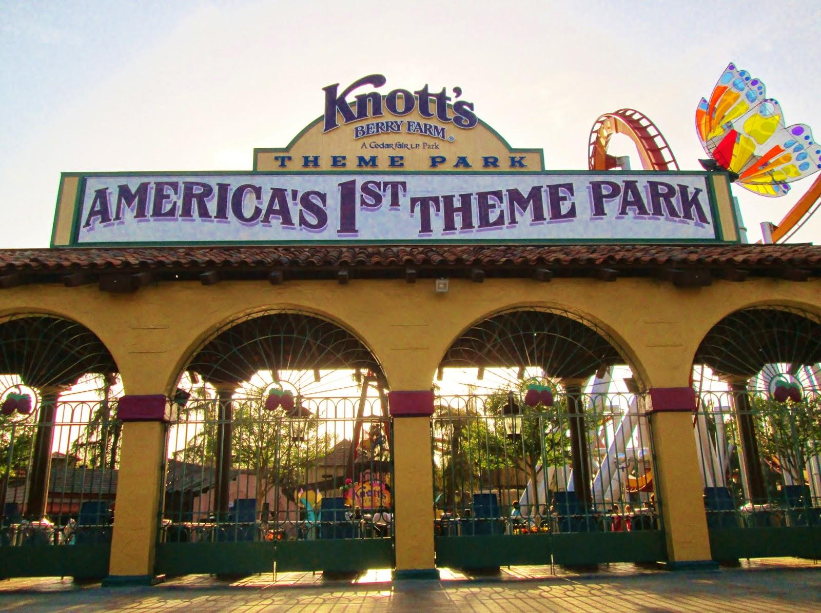 Knotts Berry Farm Trip Report April 2014 Calico Mine