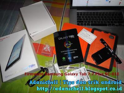 Firmware Samsung Galaxy Tab 7.7 Plus SC-01E