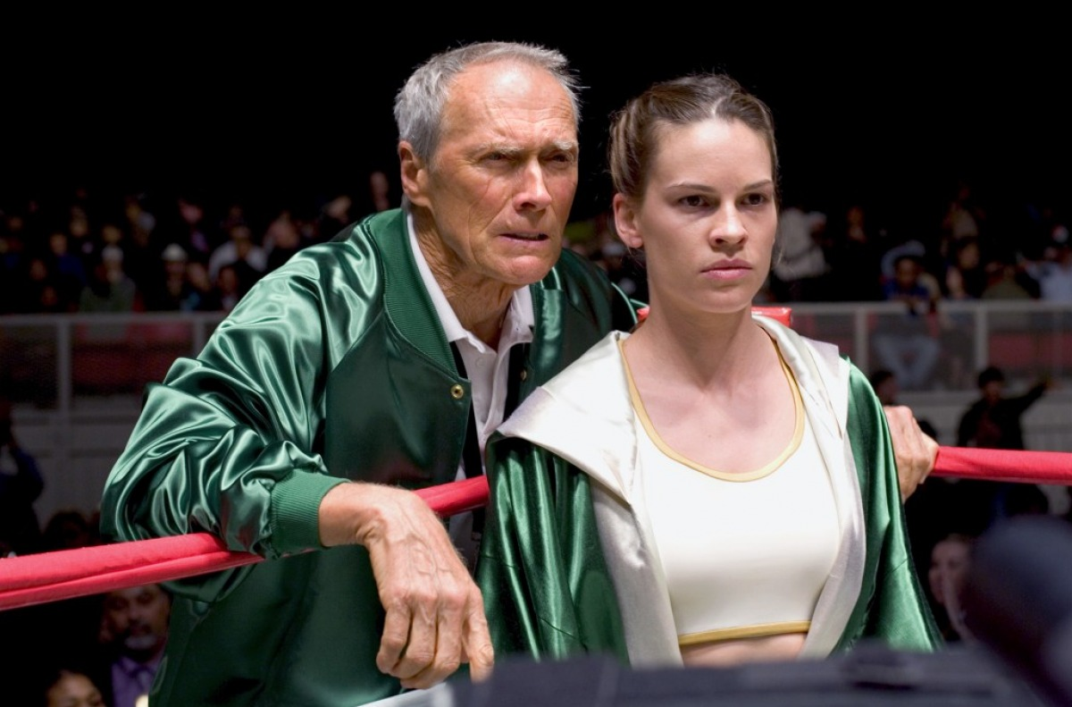 In the Frame Film Reviews 100 Movies  No 59 Million Dollar Baby