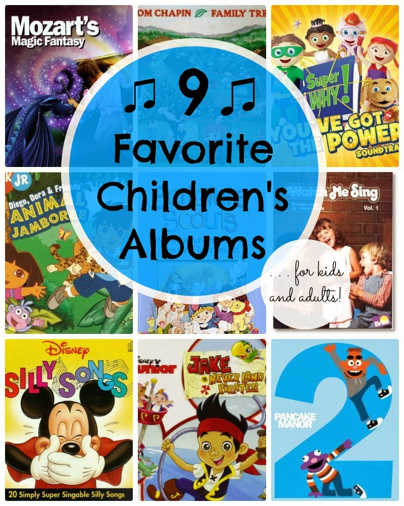 Nine Fantastic Music Albums for Children (and Adults!)