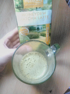 rasa teh hijau melon