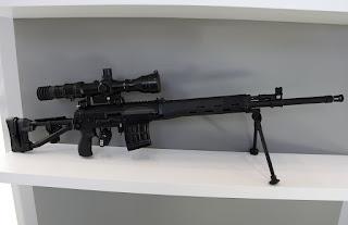 Senapan Sniper Dragunov SVDM 7.62mm