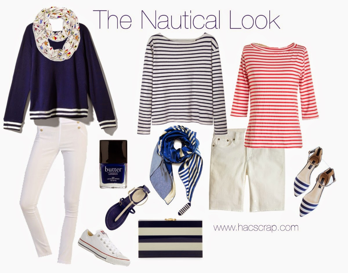 Nautical Look Outfit Ideas - #ootd