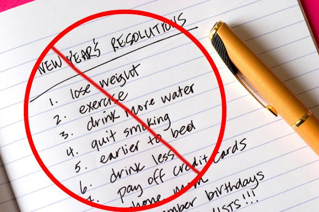 Failed New Year's Resolutions