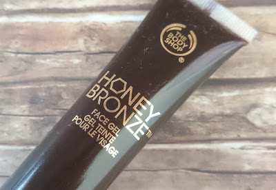 Review The Body Shop - Honey Bronze Face Gel