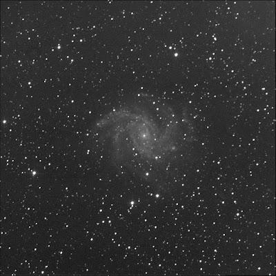 supernova SN2017eaw in NGC 6946