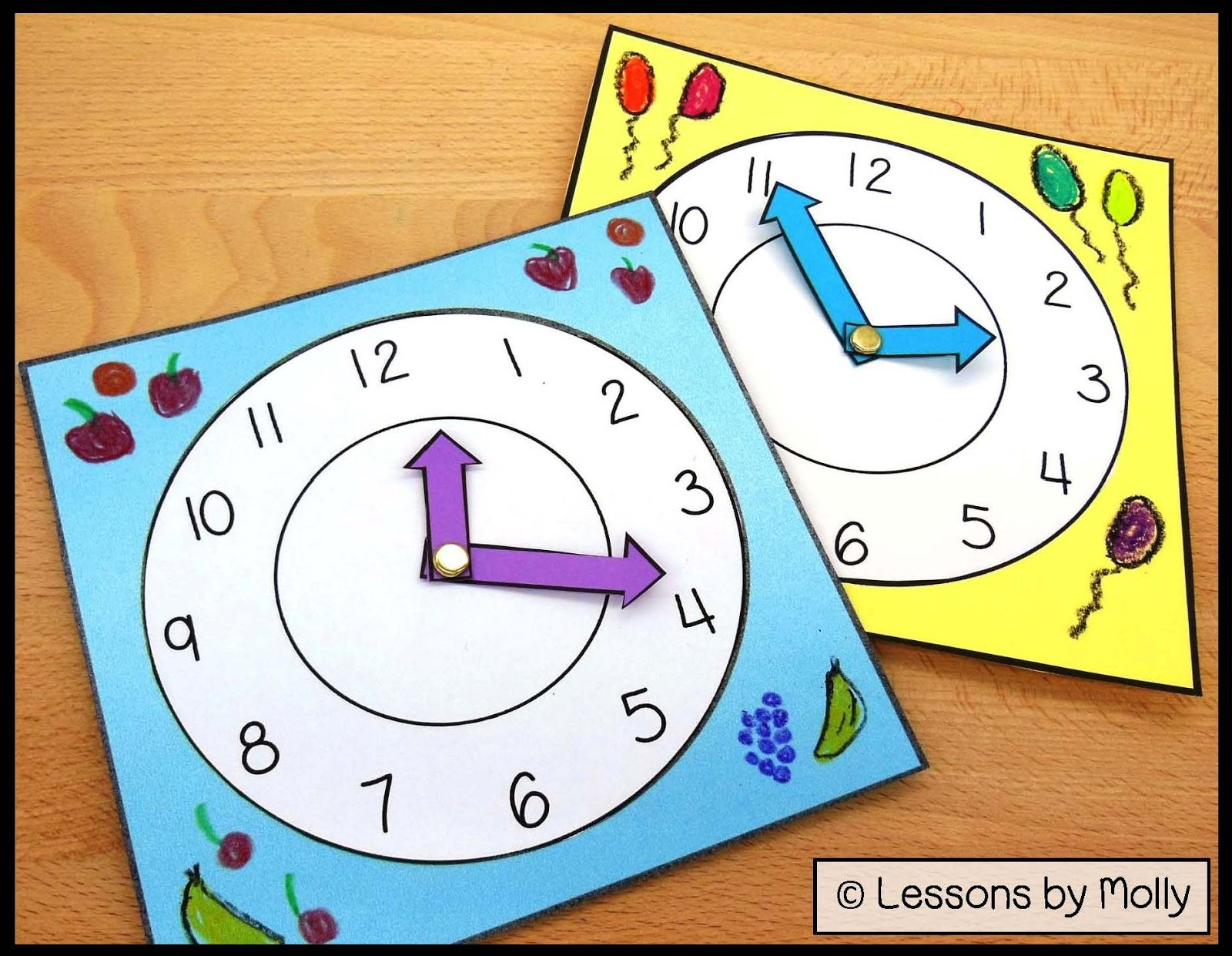 how to tell time on a clock with hands