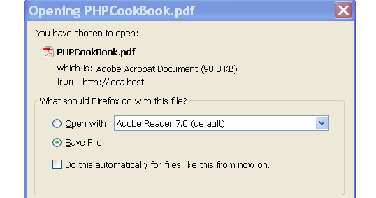 CodeIgniter Download File Example (From URL / Server)