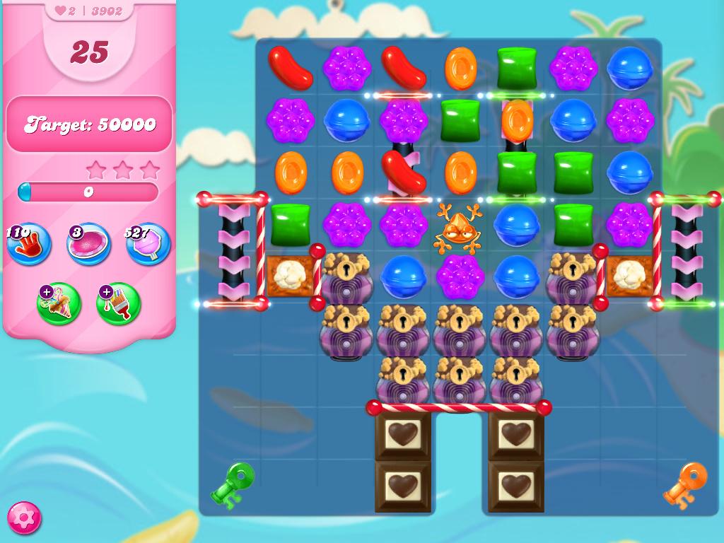 Candy Crush Saga level 3902