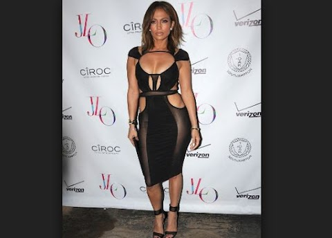 Jennifer Lopez at her birthday 43