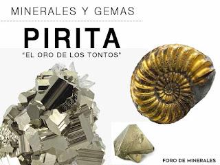 """Minerales y Gemas : La Pirita """"el oro de los tontos"""" - foro de minerales"""