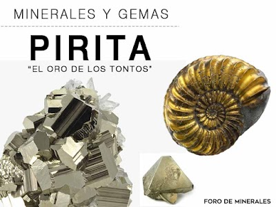 Pirita - Propiedades y caracteristicas