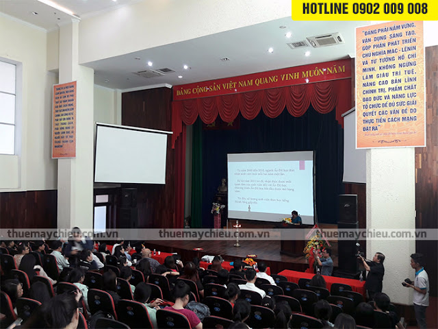 Cho thuê máy chiếu tổ chức lễ kỷ niệm ở Đại Sứ Quán Ấn Độ