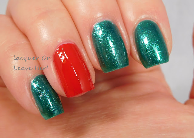 Julep Karissa and China Glaze Watermelon Rind