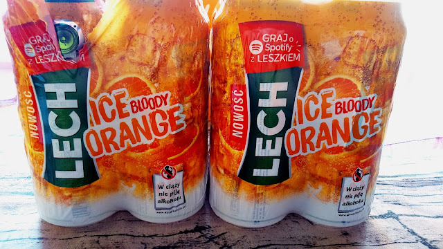 Testowanie pomarańczowego Lecha #IceBloodyOrangeTestMeToo