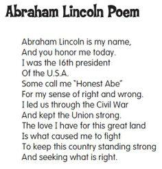 Best Abrahan Lincoln Poem