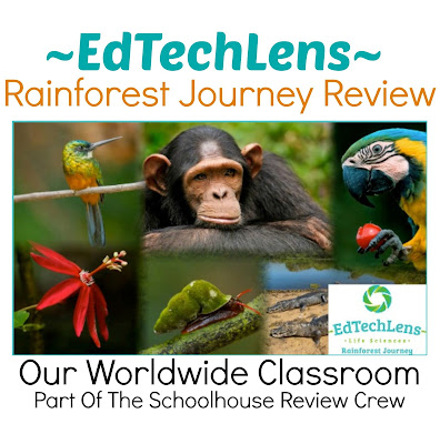 eLearning for Homeschool Rainforest Journey Unit Study