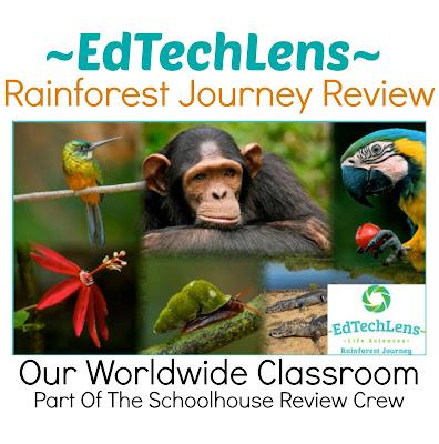 eLearning for Homeschool Rainforest Journey Unit Study