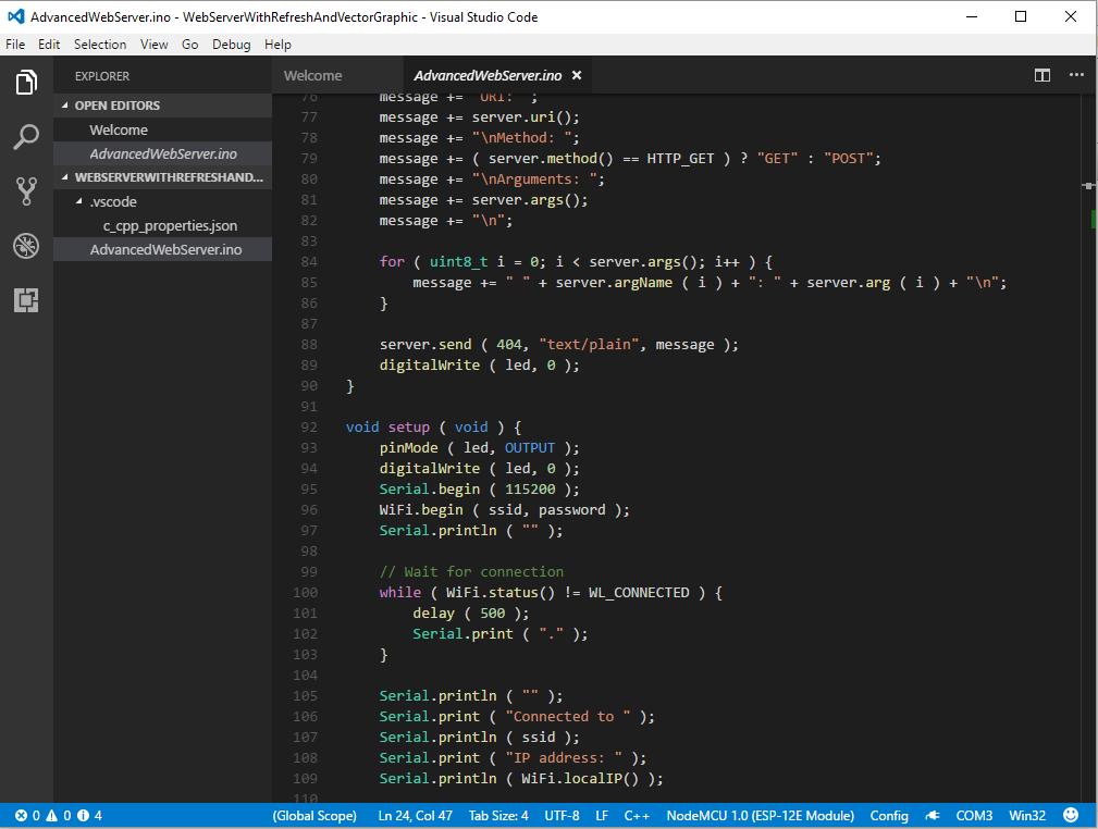 Installing Visual Studio Code for ESP8266 - DiscoverThat