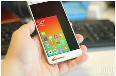 Cara Mengaktifkan mode Satu Tangan di Xiaomi Redmi Note 3 Pro