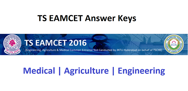 TS EAMCET Answer Key 2016 - Engineering, Medical & Agriculture Telangana/2016/05/ts-eamcet-answer-key-2016-engineering-medical-agriculture-telangana.html