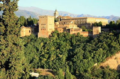 Alhambra de Granada from the Albaicin