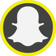 snapchat icon outline