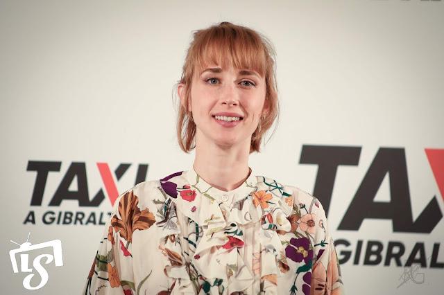 Ingrid García-Jonsson, Taxi a Gibraltar, photocall