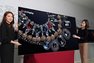 Η LG ετοιμάζεται να παρουσιάσει στην έκθεση CES 2018 την 88 ιντσών 8K OLED TV