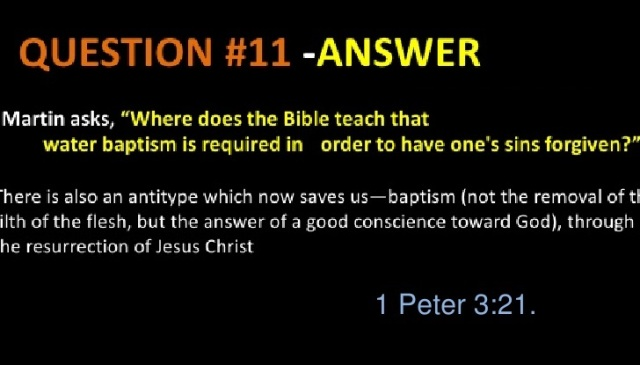 questions Christians don't have answers for