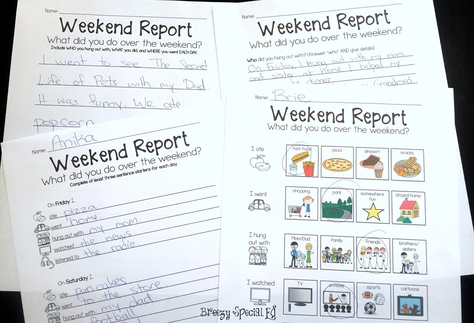 Make Monday Mornings Easier Weekend Reports