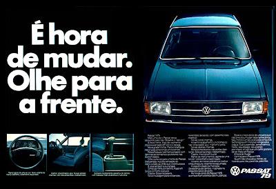 propaganda Passat modelo 79 - 1978