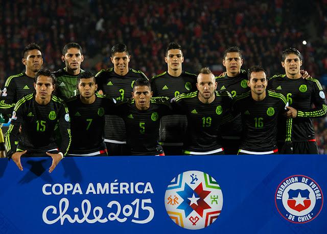 Formación de México ante Chile, Copa América 2015, 15 de junio