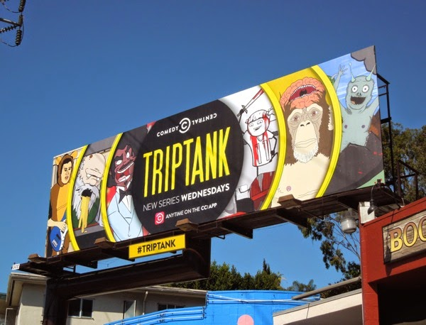 TripTank season 1 Comedy Central billboard