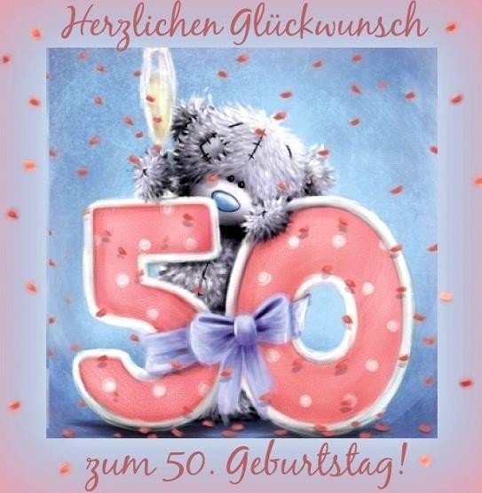 Herzlichen Glückwunsch 50 Geburtstag