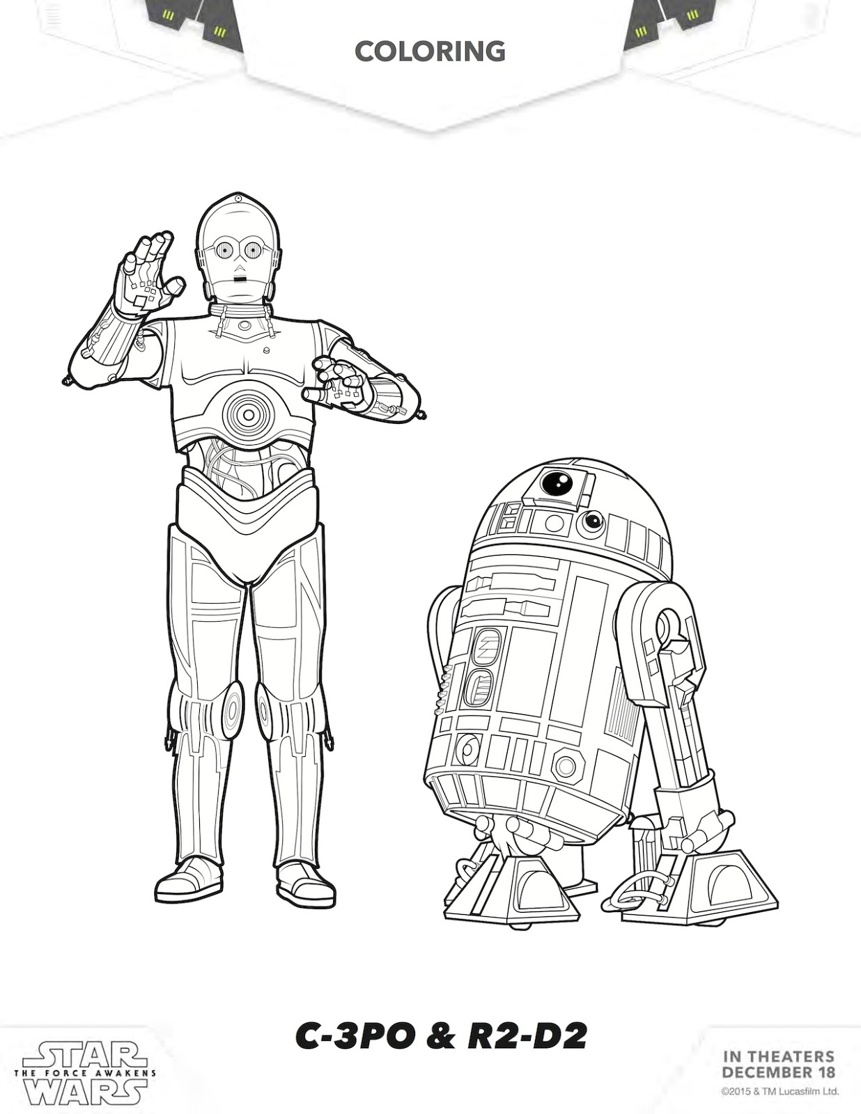 FREE Star Wars Printables: 20+ Star Wars Activity Sheets
