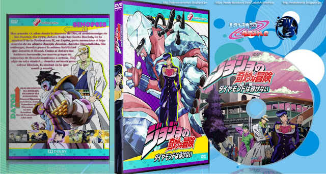 JoJo no Kimyou na Bouken: Diamond wa Kudakenai | 31/39 | Cover DVD | 720p & 1080p | MEGA |
