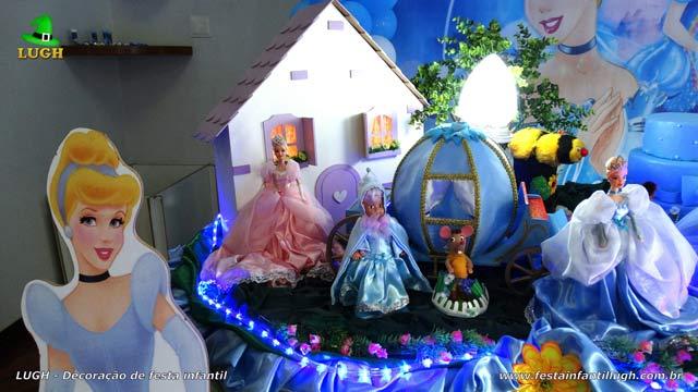 Decoração Cinderela - Mesa temática luxo