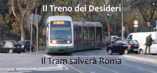 Un tram sul Lungotevere, solo una provocazione?