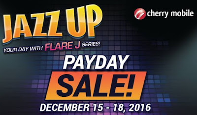 Cherry Mobile PAYDAY SALE; Save Up To Php700 On Select Flare J Devices Until December 18