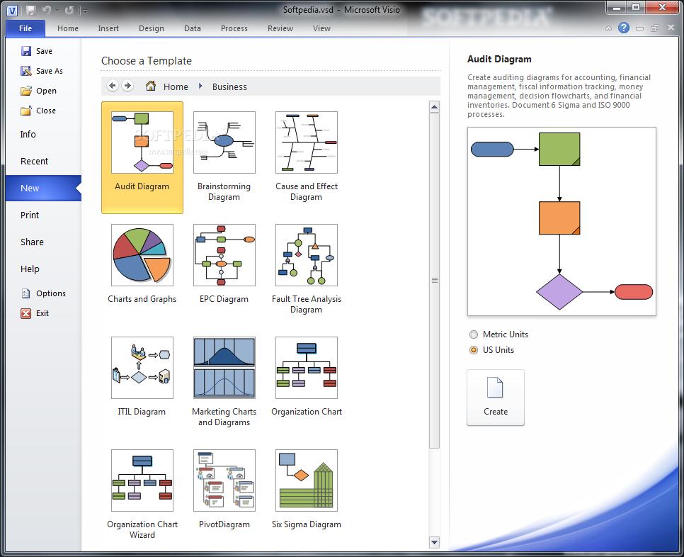 Microsoft Visio Premium 2010 (64-bit) - Free download and