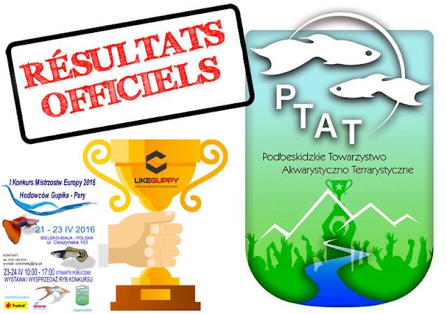PTAT • Europe 2016 - Pologne (Résultats)