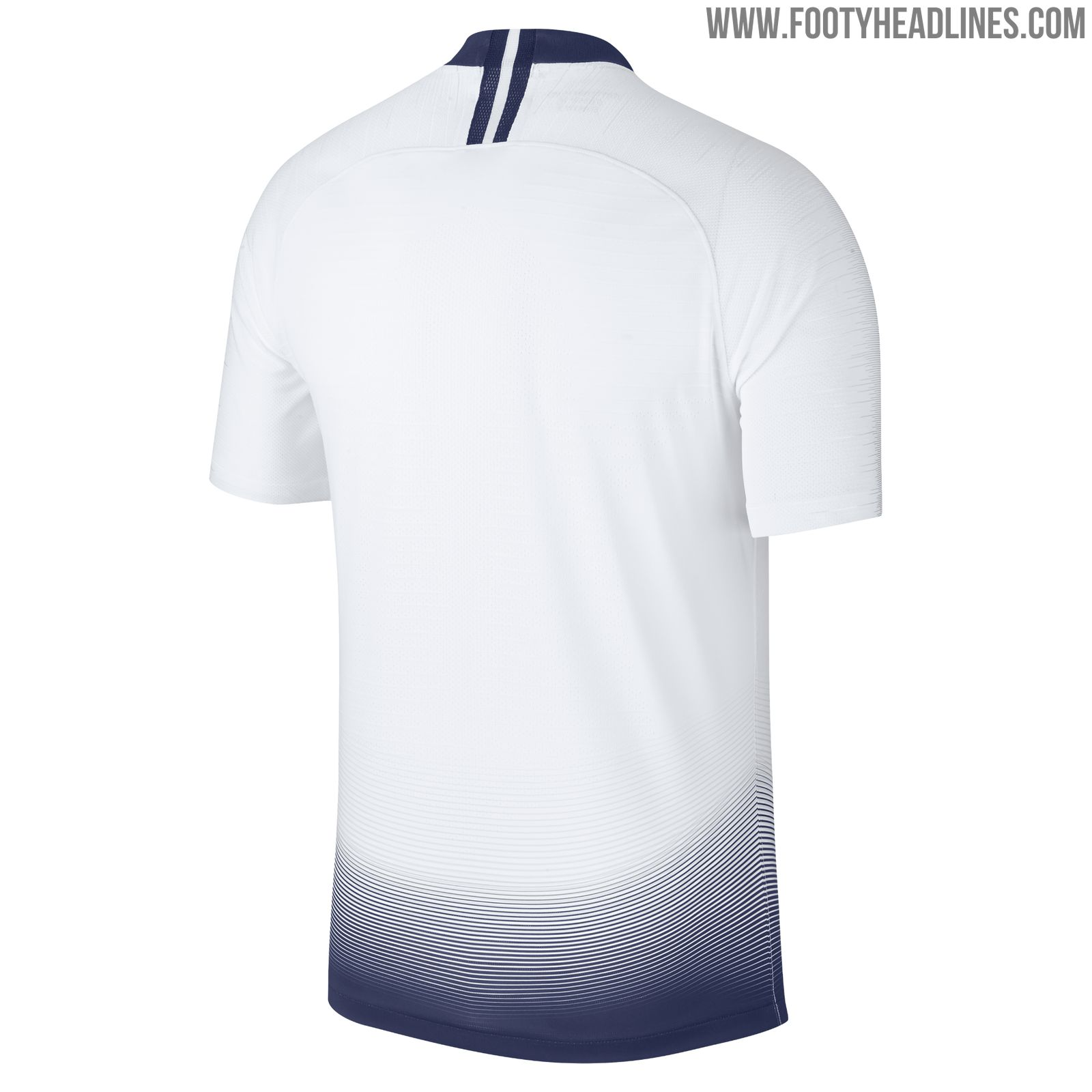 07c98d22 The Nike Tottenham Hotspur 2018-19 home jersey boasts a modern gradient  design to stand out from Nike's classic first Tottenham jersey.