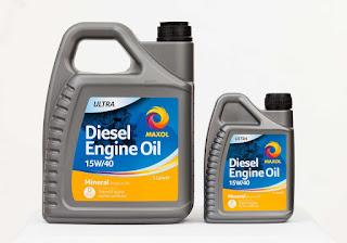 Huile de moteur diesel