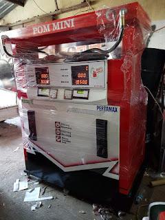 2 nozzle portable kapasitas 210 liter Harga: Rp 16.000.000
