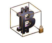 bitcoin 3d logo لوجو  ثلاثي الأبعاد البيتكوين