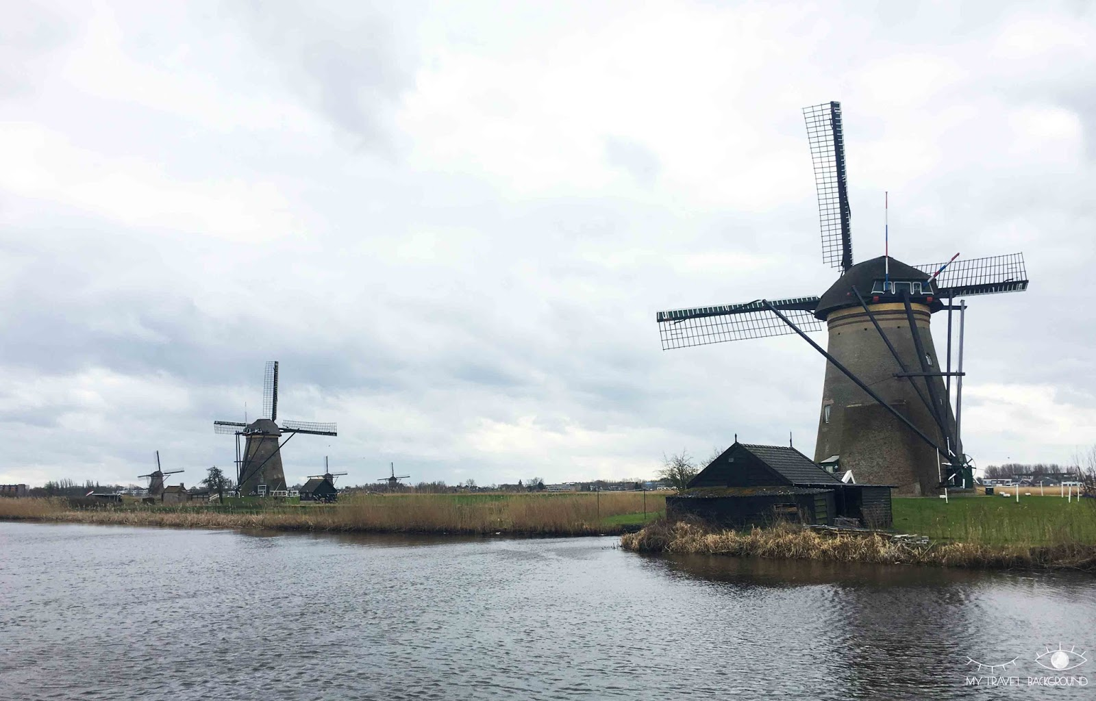 My Travel Background : 1 week-end aux Pays-Bas, de Rotterdam à Delft - Les moulins de Kinderdijk