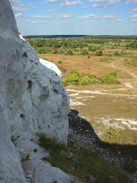 Двуречанский район, меловая гора возле Новомлынска