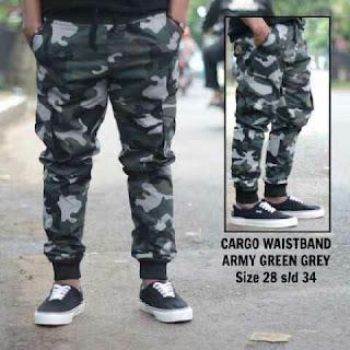 Jogger Cargo Army