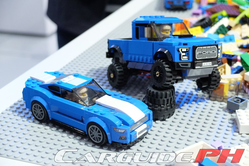 NAIAS 2016  Everything is Awesome with These Ford LEGO Sets     The Ford Mustang and the F 150 Raptor are getting LEGO fied  For the kids  in everyone  LEGO is launching LEGO Speed Champions version of the Mustang  and